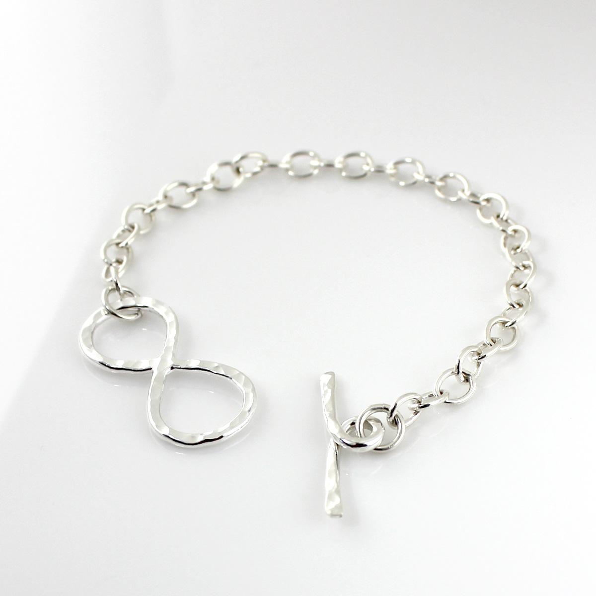Infinity Toggle Bracelet