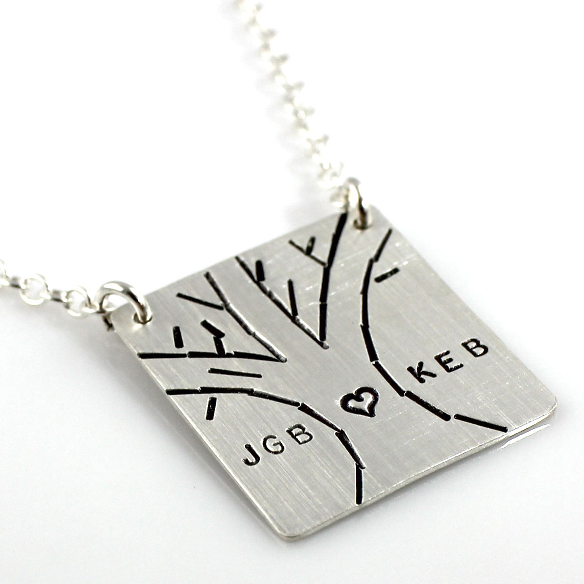 Love Tree Personalized Necklace