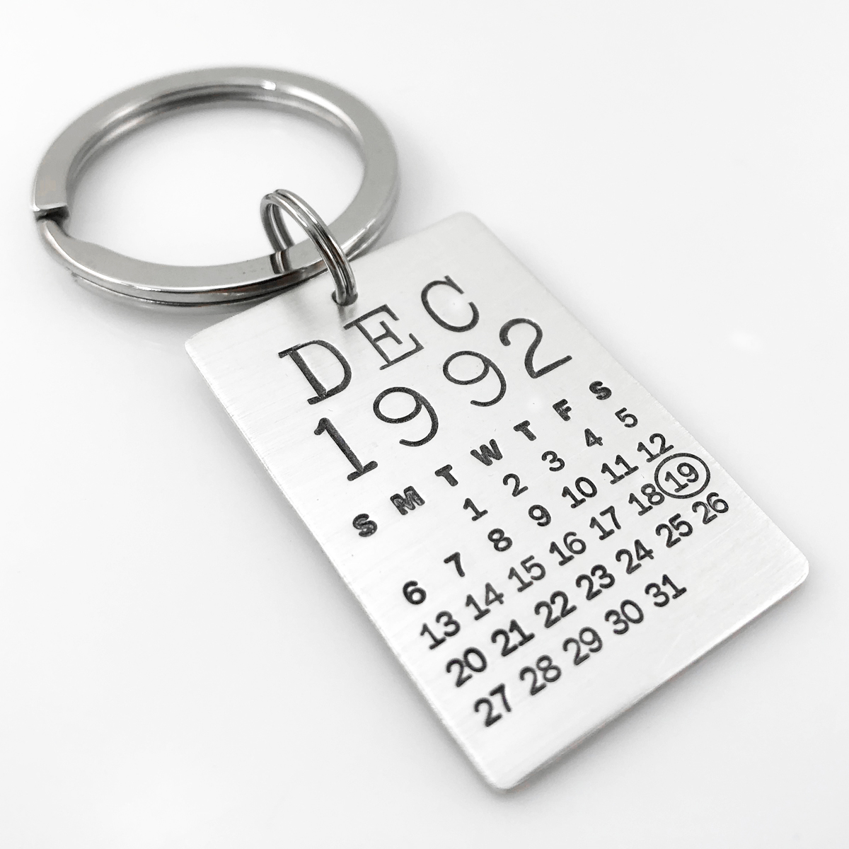 Mark Your Calendar Key Chain - larger