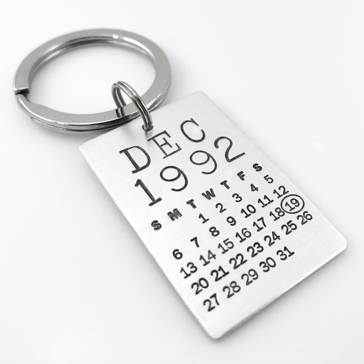 Mark Your Calendar Key Chain - larger