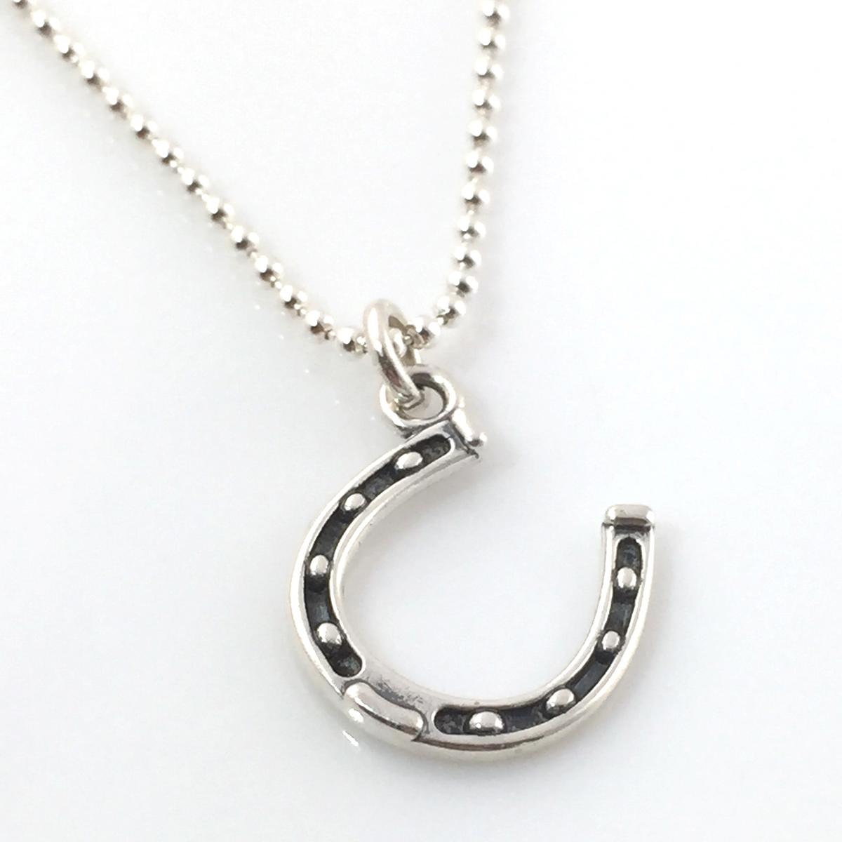 Horseshoe Simple Charm Necklace