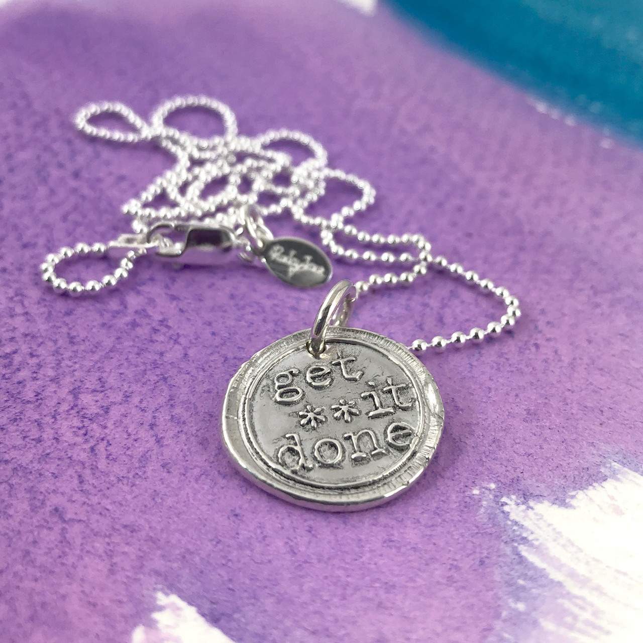 Get It Done Wax Seal Necklace