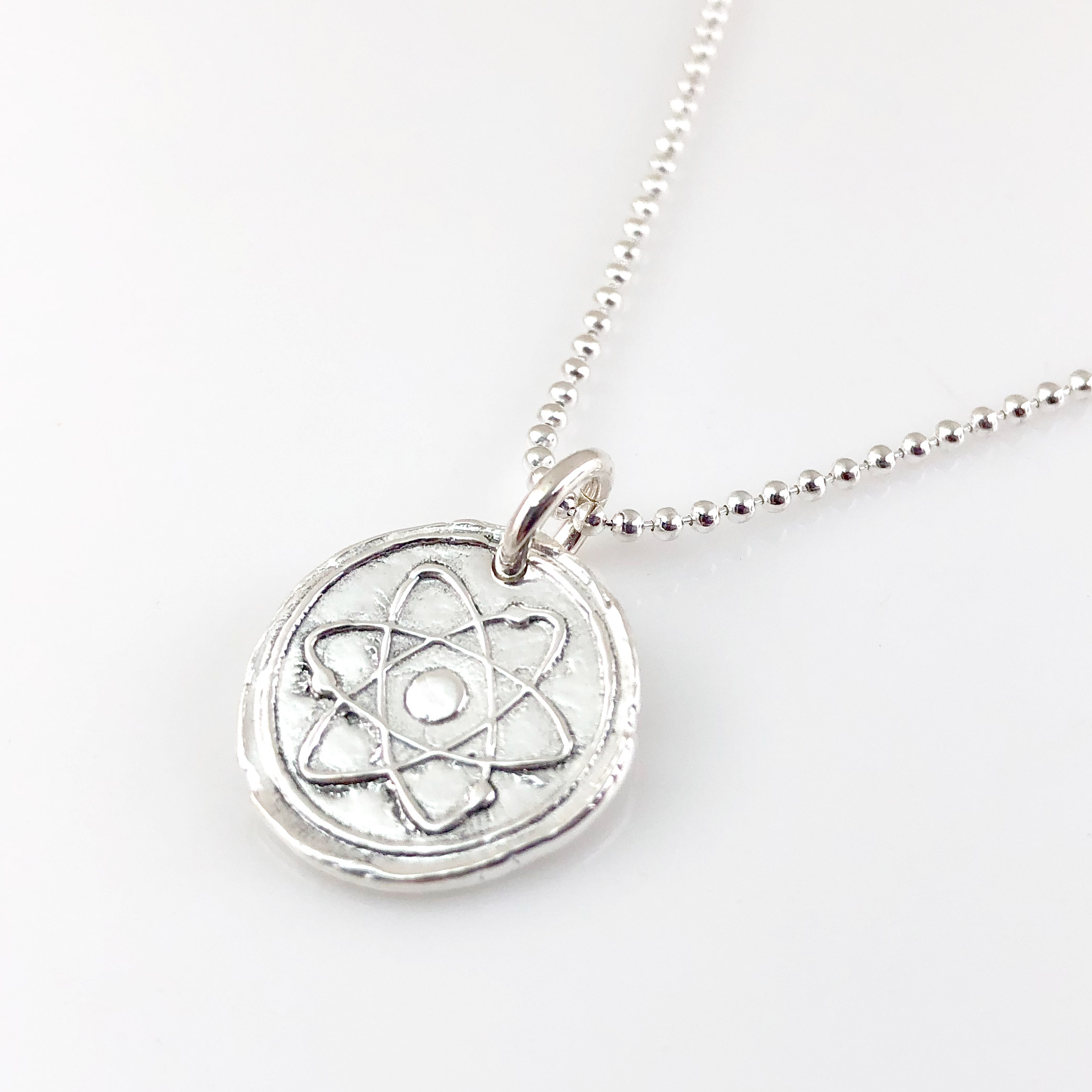 Atom Wax Seal Necklace