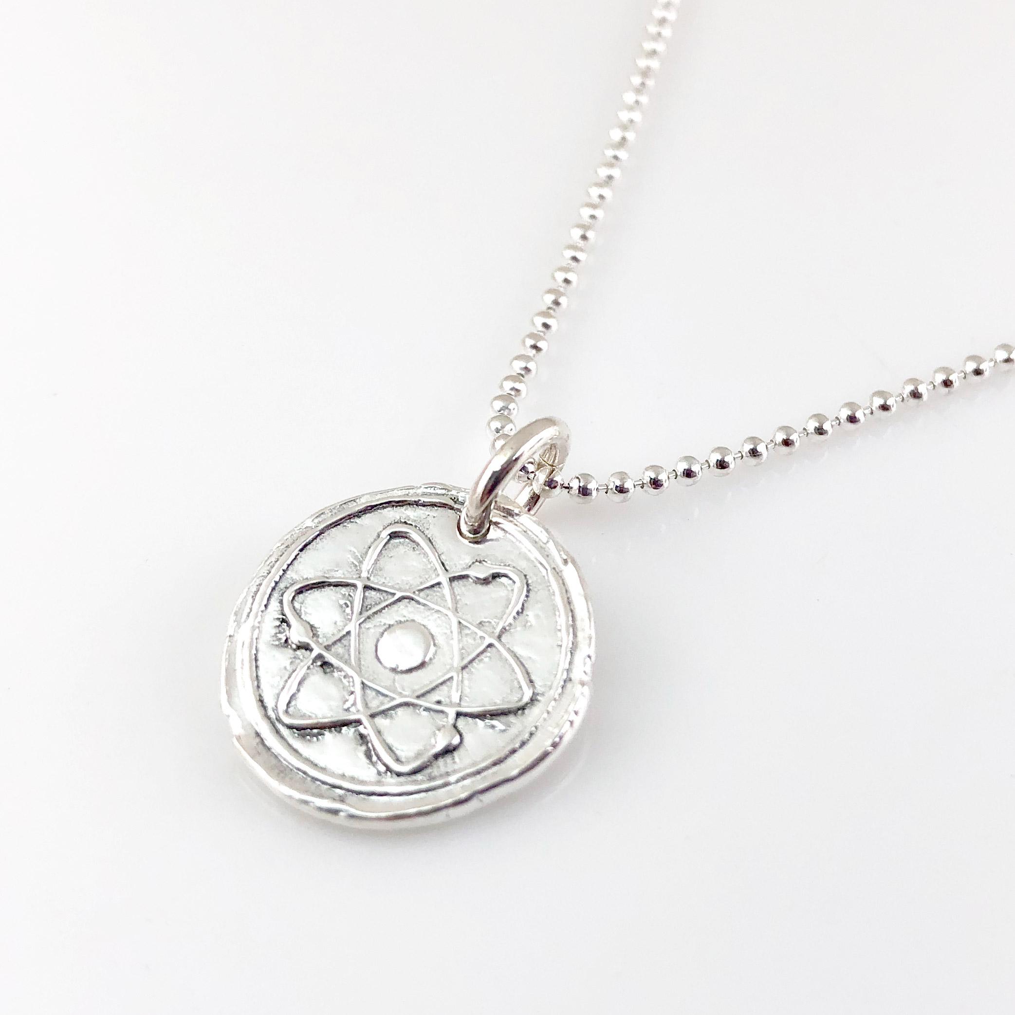 Atom Wax Seal Necklace