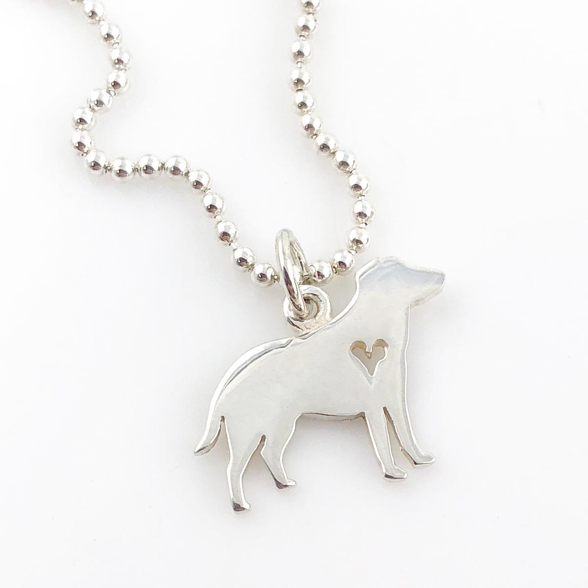 Retriever Simple Charm Necklace - Dog Necklace