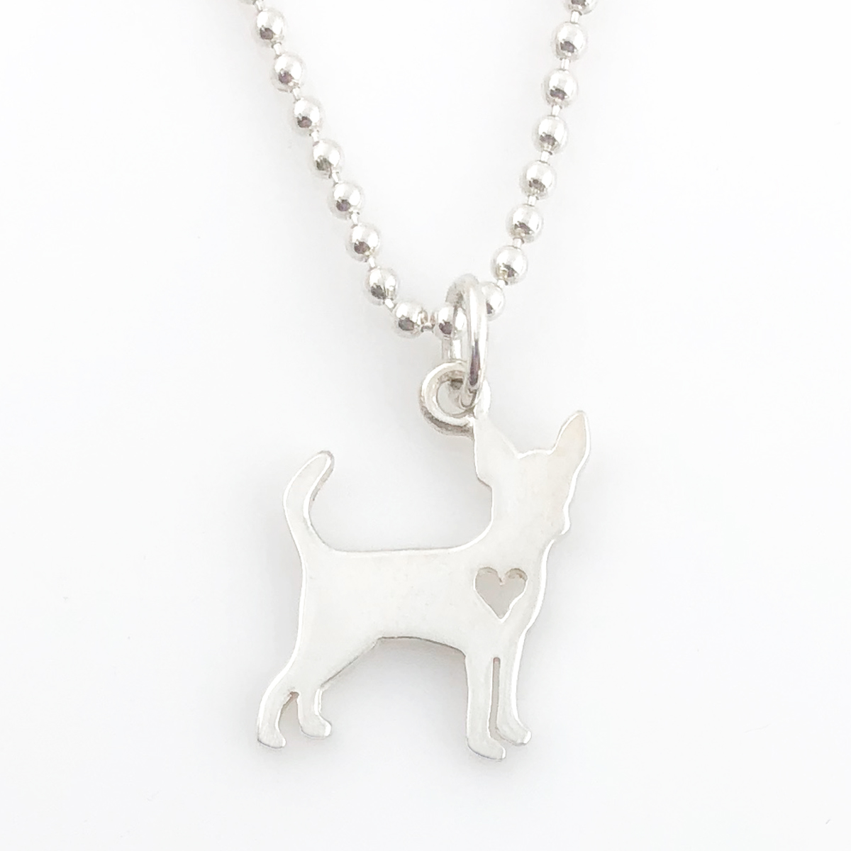 Dog | Chihuahua Simple Charm Necklace - Dog Necklace (Ready to Ship)