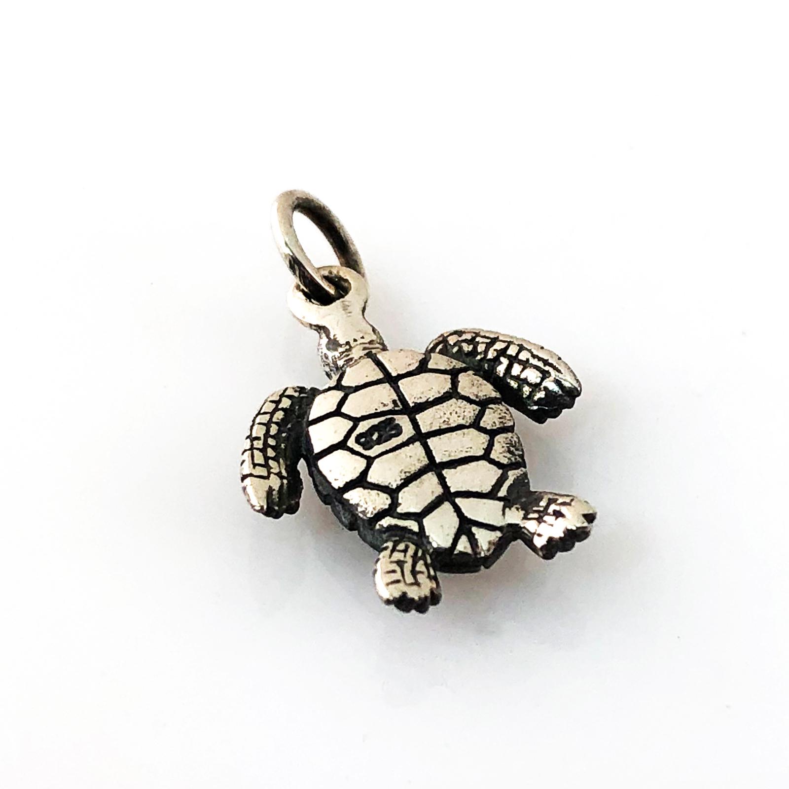 Sea Turtle Charm - underside