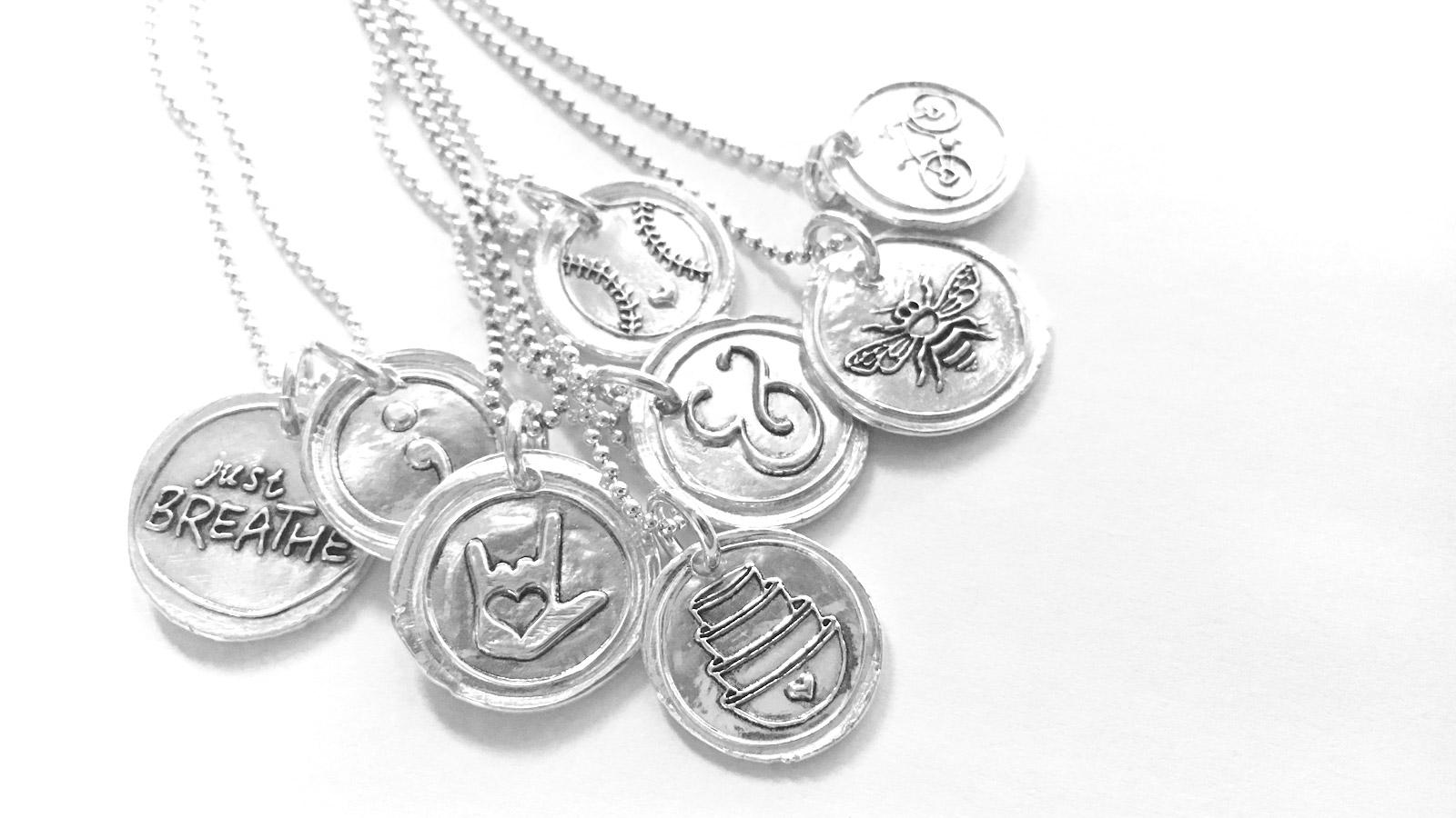 Wax Seal Jewelry
