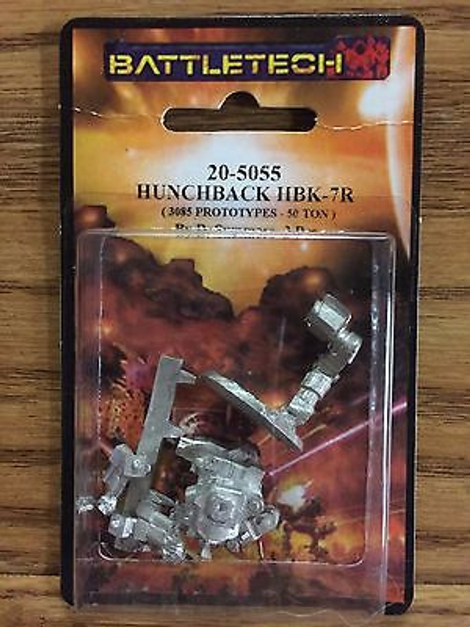 BattleTech Miniatures: Hunchback HBK-7R Mech 20-5055 ADD'L ITEM SHIP FREE