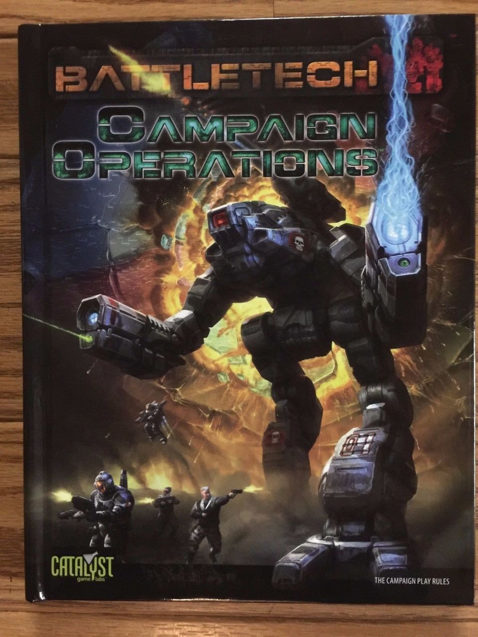 BattleTech RPG: Campaign Operations ADD'L ITEMS SHIP FREE