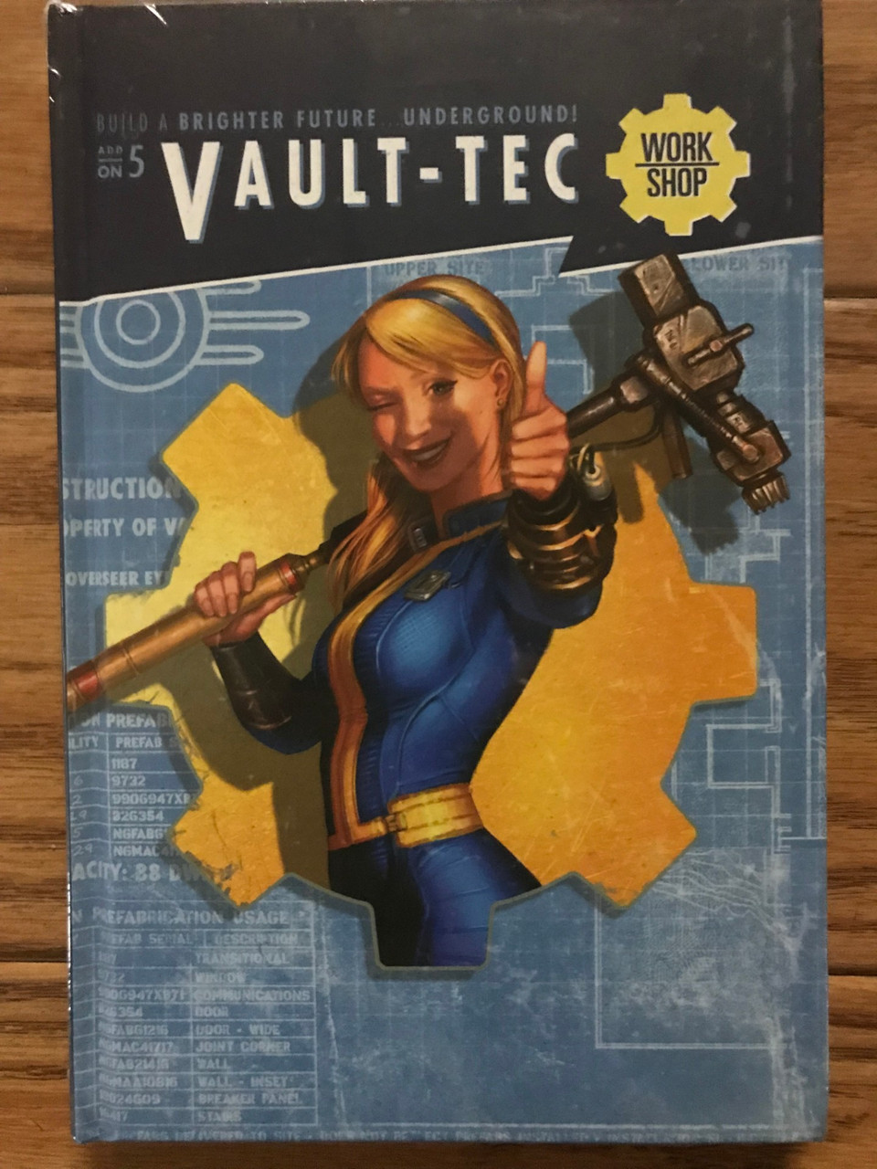 Fallout: Wasteland Warfare - Vault-Tec Notebook ADD'L ITEMS SHIP FREE