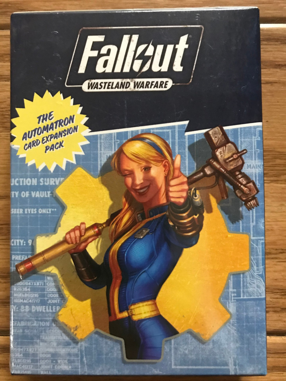 Fallout RPG: Wasteland Warfare - Automatron Card Pack ADD'L ITEMS SHIP FREE