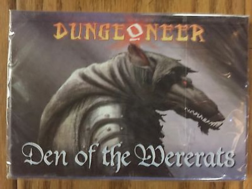 Dungeoneer Card Game: Den of the Wererats (Reprint)