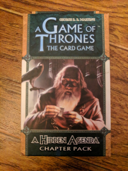 A Game of Thrones LCG: A Hidden Agenda Chapter Pack