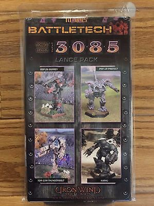 Battletech 3085 Lance Pack 10-045 ADD'L ITEMS SHIP FREE