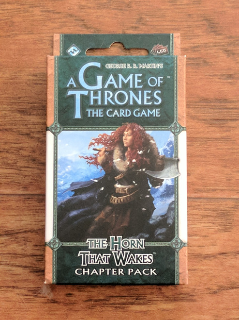 A Game of Thrones LCG: The Horn that Wakes Chapter Pack ADD'L ITEMS SHIP FREE