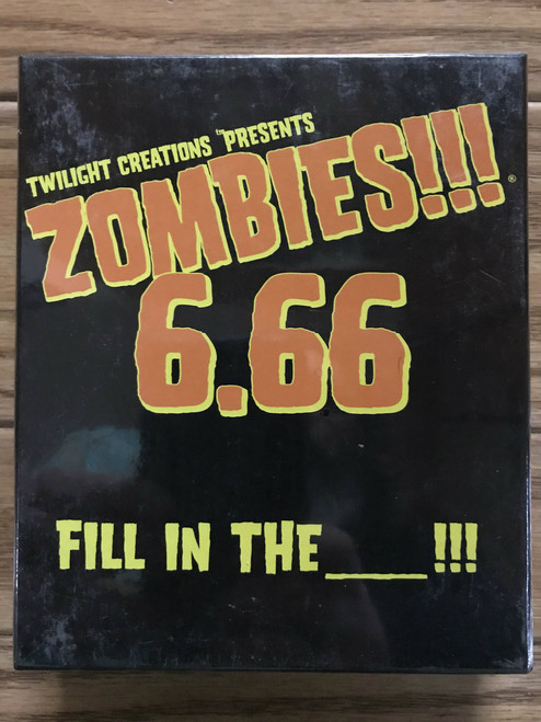 Zombies!!! 6.66: Fill in the Blank!!! ADD'L ITEMS SHIP FREE