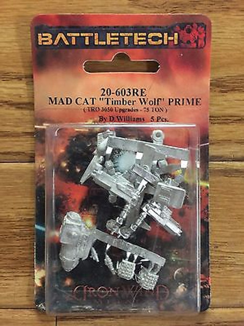 Classic Battletech Madcat Mech 20-603RE  ADD'L ITEMS SHIP FREE