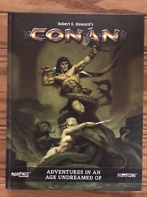 Conan RPG: Adventures in an Age Undreamed Of Hardcover ADD'L ITEMS SHIP FREE