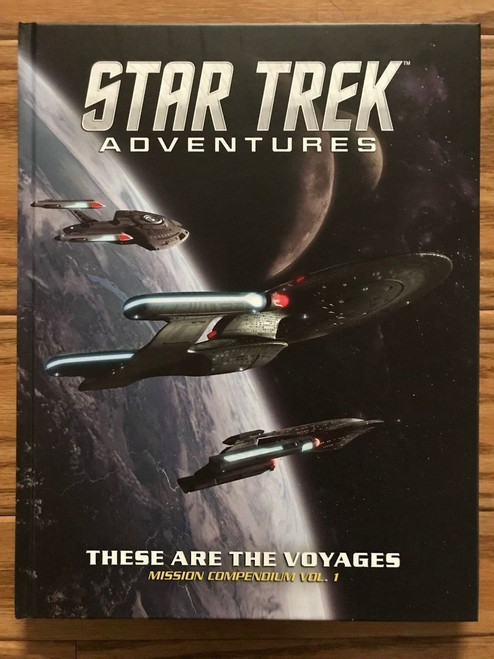 Star Trek Adventures RPG: These are the Voyages, Vol.1