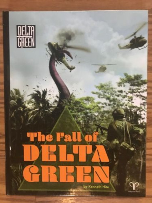 Gumshoe Rules System: The Fall of Delta Green ADD'L ITEMS SHIP FREE