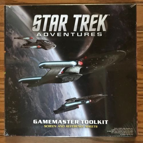Star Trek Adventures RPG: GM Screen ADD'L ITEMS SHIP FREE