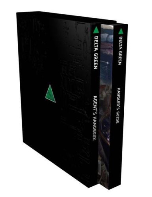 Delta Green RPG: The Role-Playing Game Slipcase Edition ADD'L ITEMS SHIP FREE