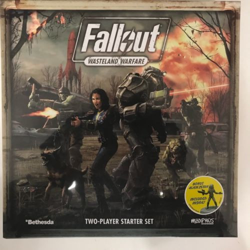 Fallout: Wasteland Warfare Two Player Starter Game ADD'L ITEMS SHIP FREE