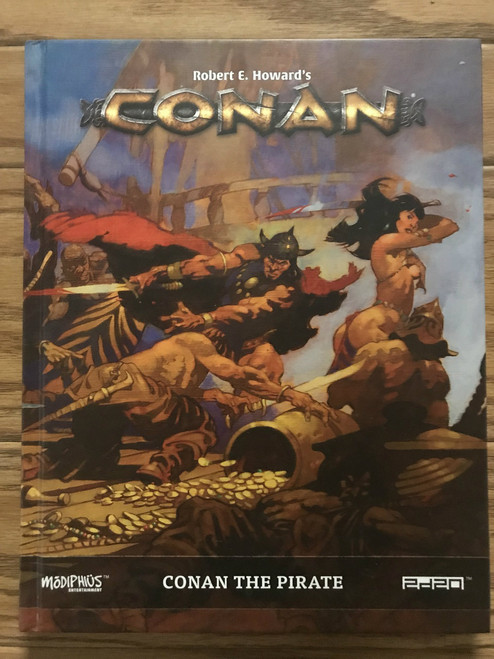 Conan RPG: Conan The Pirate ADD'L ITEMS SHIP FREE