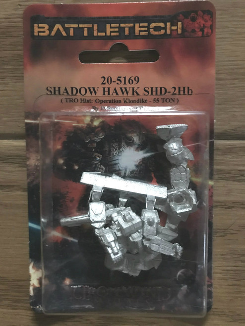 BattleTech Miniatures: Shadow Hawk SHD-2Hb Mech 20-5169 ADD'L ITEMS SHIP FREE