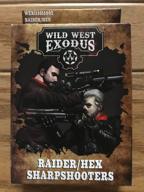 Wild West Exodus: Raider / Hex Sharpshooters ADD'L ITEMS SHIP FREE