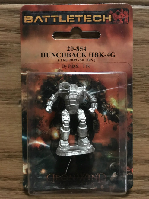 Classic Battletech Hunchback Mech 20-854 ADD'L ITEMS SHIP FREE