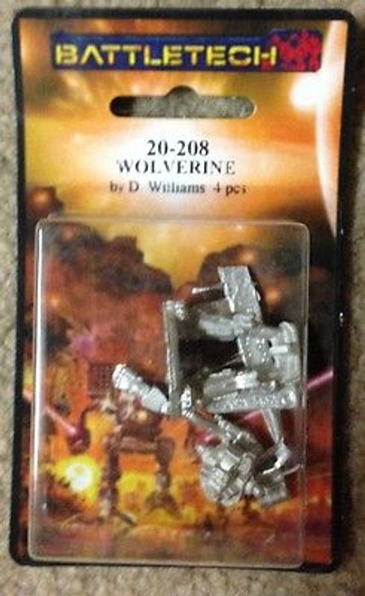 Classic Battletech Wolverine Mech IMW 20-208 ADD'L ITEMS SHIP FREE