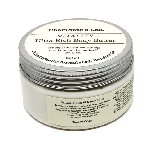 Vitality Ultra Rich Body Butter 250ml