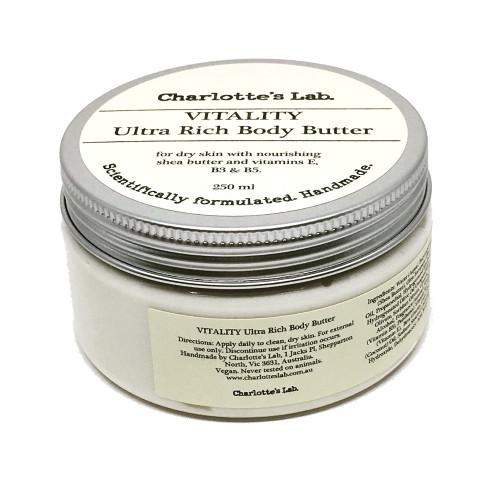 Vitality Ultra Rich Body Butter 250ml