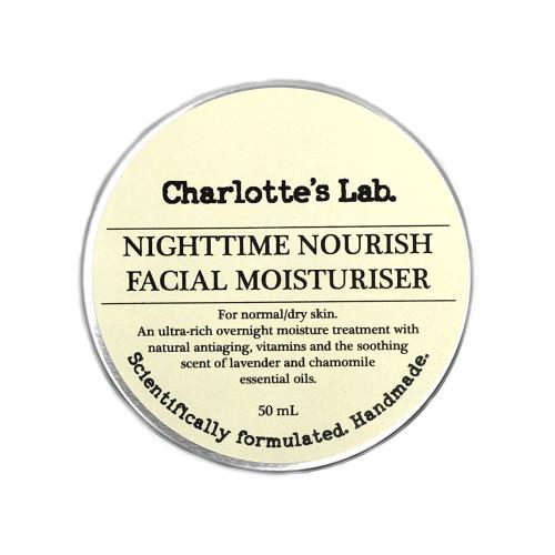 Nighttime Nourish Charlottes Lab