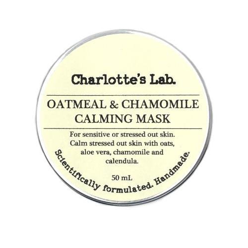 Oatmeal & Chamomile Calming Mask Charlottes Lab