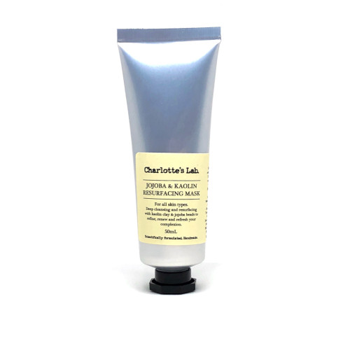Jojoba and Kaolin Resurfacing Mask 50 ml charlottes lab