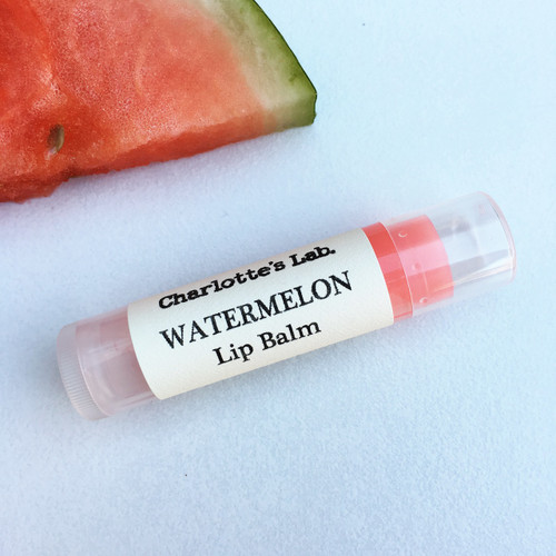 watermelon lip balm charlottes lab