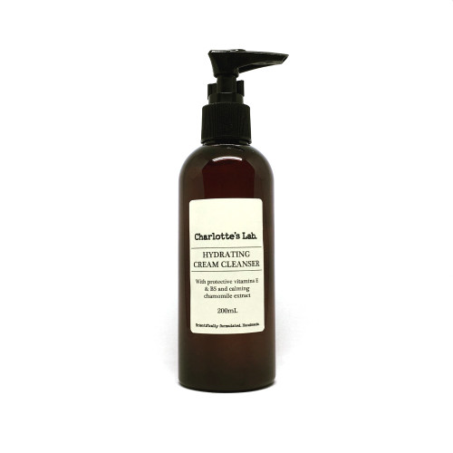 Hydrating cream cleanser for sensitive skin charlottes lab