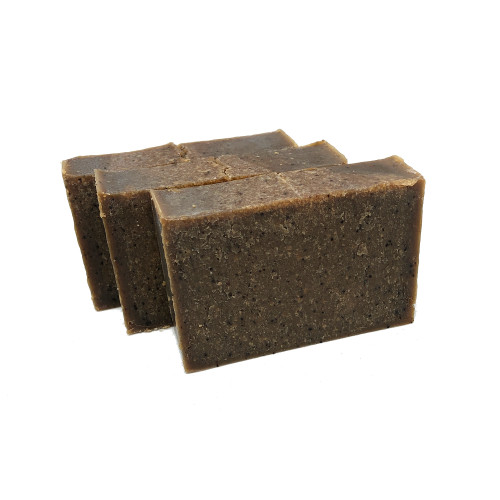 Coffee Scrubby Soap mechanics soap charlottes lab