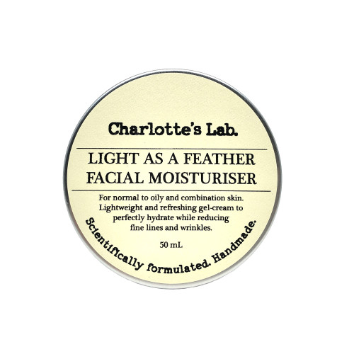 Lightweight face cream charlottes lab