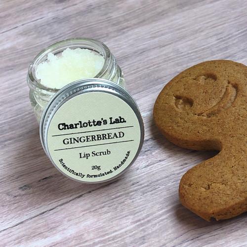 Gingerbread Lip Scrub made in Australia