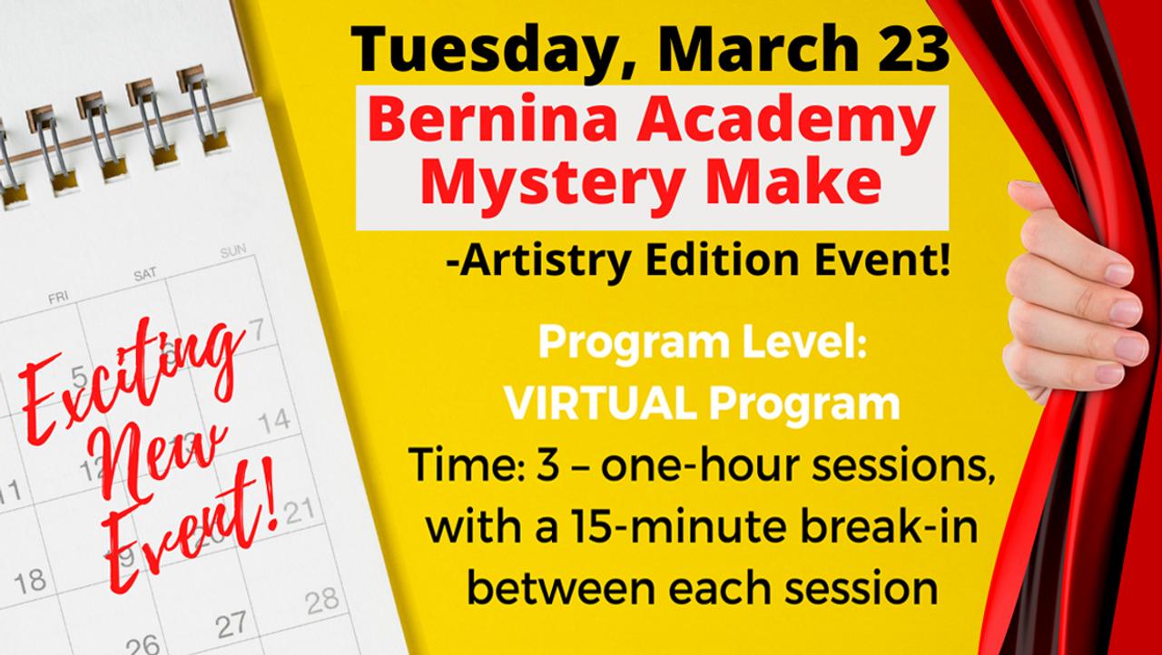 Quilt Quarters To Host Virtual Bernina Academy Mystery Make