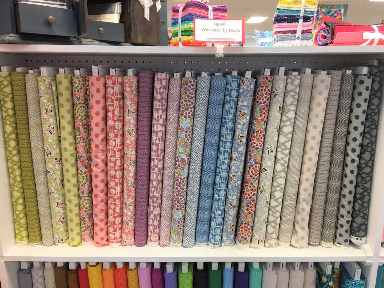 New Fabrics Available at Quilt Quarters!