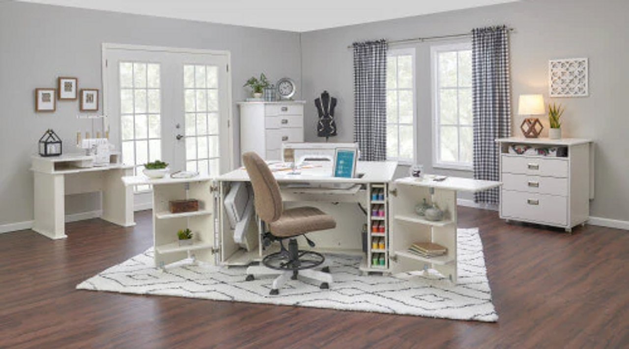 Quilt Quarters Now Offering Sewing Furniture and Cabinets!