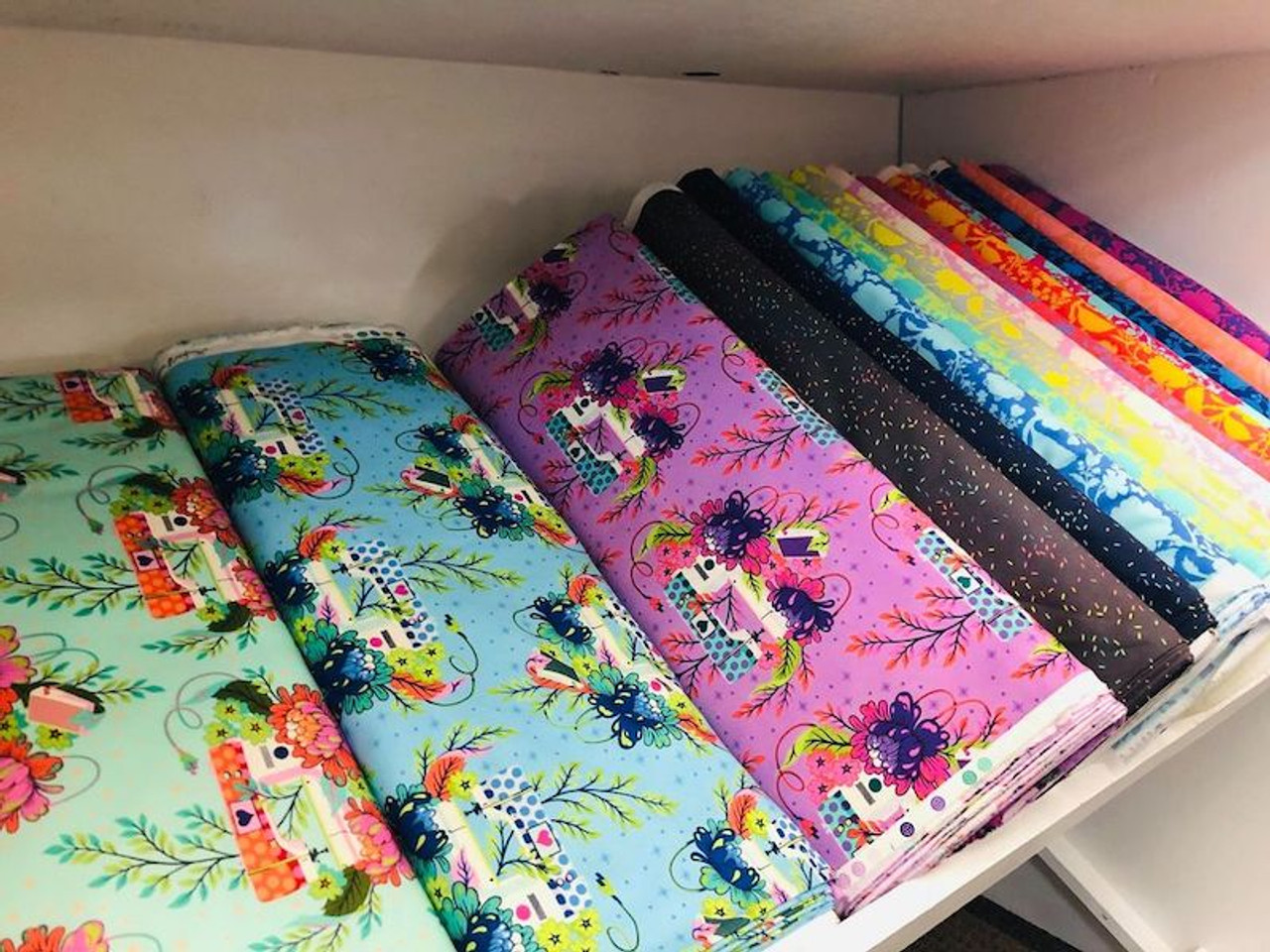 Tula Pink Fabrics Now at Quilt Quarters!