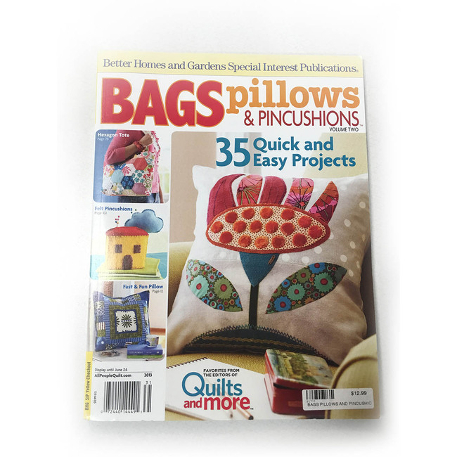 Bags, Pillows, and Pincushions Volume 2