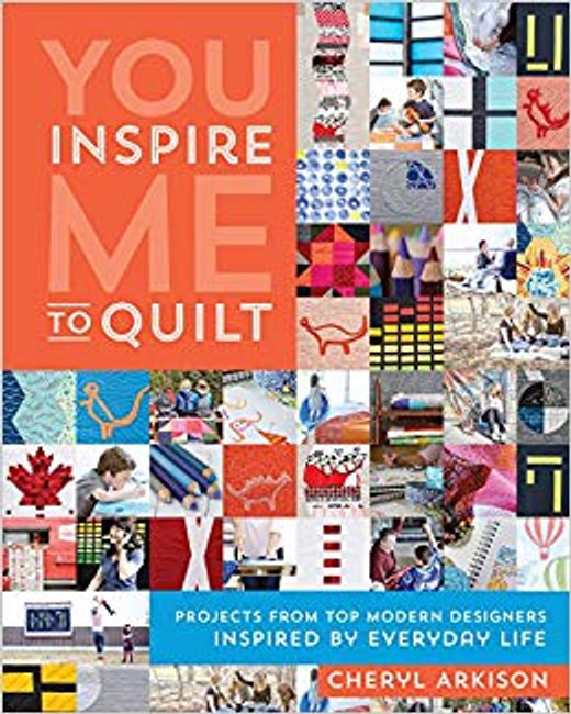 Projects from top modern designers inspired by everyday life. Glimpse into the creative process of popular quilting bloggers as they create quilts from everyday inspirations.