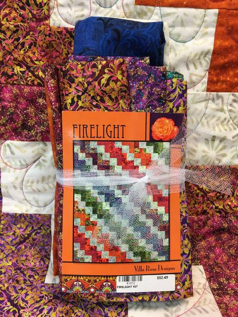 Firelight by Villa Rosa Designs Quilt Kit